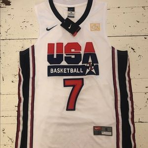 NWT Larry Bird Team USA Jersey